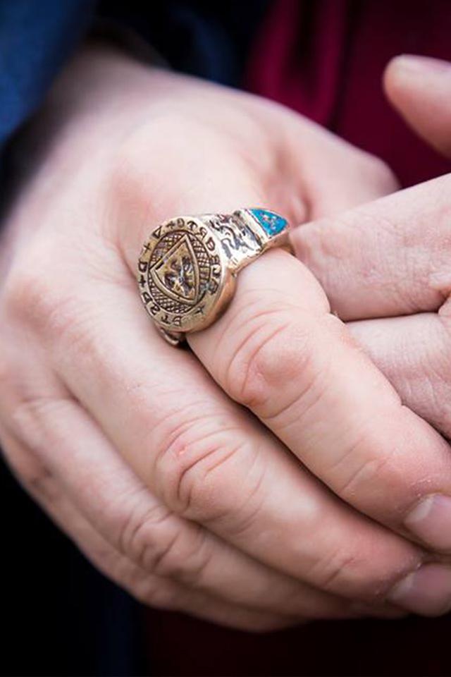 Dettaglio anello