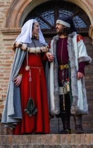 Nanne Strozzi e Costanza Costabili