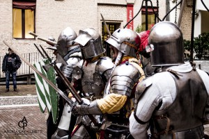 Un momento della Battaglia durante l'Autunno Ducale 2015