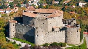 Veduta aerea del Castello di Gorizia