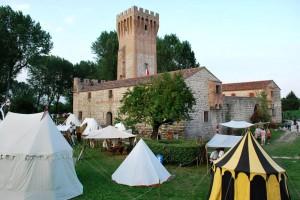 I campi d'arme al castello di Cervarese Santa Croce