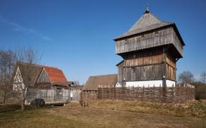 Veduta del villaggio medievale