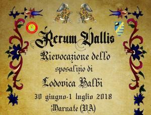 Rerum Vallis 2018 Copertina