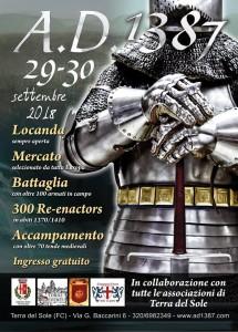 Locandina AD 1387 - 2018