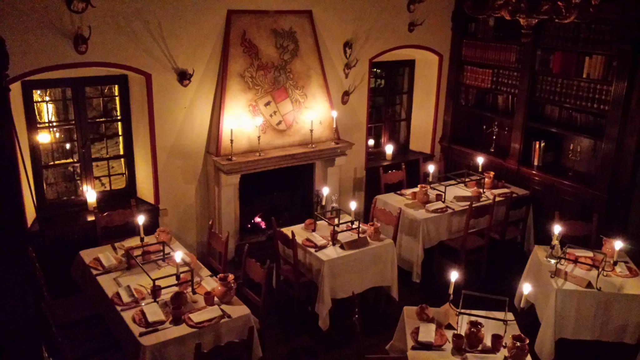 Cena Medievale al Castello Formentini – Compagnia d'Arme del Santo Luca